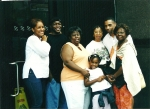 Mike Jr., Trish, Amara, Vickie, Willie & Lil (NY 2002)